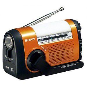 ソニーの防災ラジオICF-B09